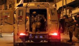 اقتحامات واعتقالات في مناطق متفرقة بالضفة المحتلة