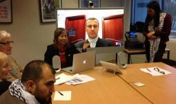لقاء في البرلمان الأوروبي للدفاع عن حركة BDS