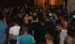 مواجهات عقب قمع قوات الاحتلال جنازة شاب في القدس المحتلة