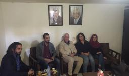 خلال لقاء وفد من بوابة اللاجئين الفلسطينيين باللواء صبحي أبو عرب