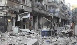 قضاء طفلة جراء قصف عنيف في مخيّم اليرموك