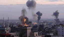 قصف صهيوني شمالي قطاع غزة
