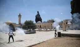 إعلان اعتصام مفتوح أمام أبواب المسجد الأقصى حتى إعادة فتحها