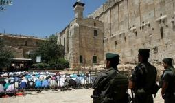 الاحتلال يُعلن إغلاق الحرم الإبراهيمي (24) ساعة