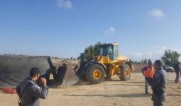 آليّات الاحتلال تهدم قرية العراقيب في النقب للمرّة (132)