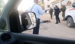 الشاب الذي أطلقت قوات الاحتلال النار عليه في الخليل المحتلة