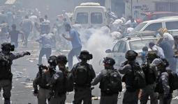 اعتقالات وإغلاق مداخل ومواجهات في الضفة المحتلة