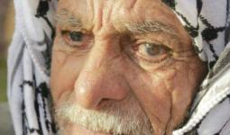 رحيل مُعمّر فلسطيني من مُخيّم النصيرات