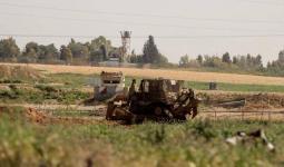قطاع غزة: استهداف بطائرة استطلاع وعمليّات توغّل وتجريف حدوديّة