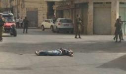 الشاب الفلسطيني الذي أطلقت قوات الاحتلال النار عليه قرب الحرم الإبراهيمي