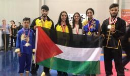 أكثر من (11) ميداليّة ذهبيّة لفلسطين في بطولة العالم للفنون القتاليّة