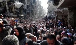 فلسطينيّو سوريا في لبنان يعتصمون أمام مقر