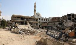 مدرسة أسدود/الجليل في مخيم اليرموك - الصورة للأونروا