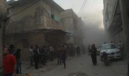 ضحايا وجرحى في قصف صاروخي على مخيم النيرب - ناشطون