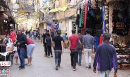 مخيم برج البراجنة للاجئين الفلسطينيين جنوبي بيروت