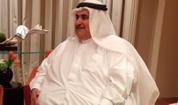 خلال لقاء وزير الخارجية البحرينية مع صحيفة