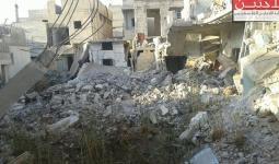 انقاض الابنية في مخيم درعا تتحول اوكاراً للافاعي والعقارب