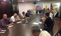 اجتماع الفصائل الفلسطينية في مقر سفارة السلطة ببيروت - أرشيف