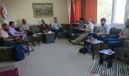 بوابة اللاجئين الفلسطينيين في لقاء مؤسساتي من أجل فلسطينيي سوريا في تركيا