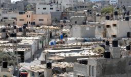 مخيم دير البلح - المصدر (UNRWA)