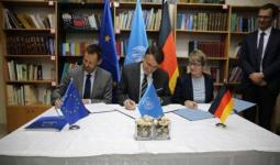 الاتحاد الأوروبي وألمانيا يُوقّعان اتفاقيات بتبرعات إضافيّة لـ