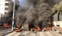 احتجاجات في مُخيّم عايدة وأمن السلطة يُطلق قنابل الصوت والغاز
