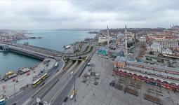 اسطنبول في فترة الحجر الصحي – (الأناضول)