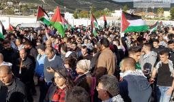 خروج آلاف الفلسطينيين في مسيرة عرعرة القُطرية واندلاع مواجهات