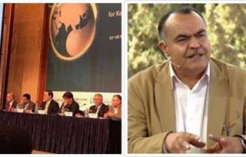 الكاتب والأكاديمي الفلسطيني أحمد رفيق عوض
