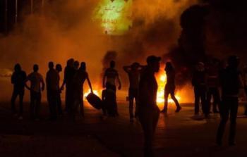 أرشيفية- لليوم الثاني مواجهات في مخيم شعفاط بالقدس المحتلة