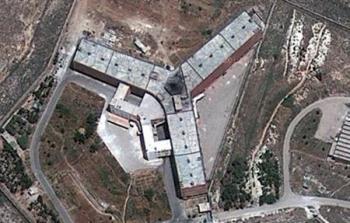 سجن صيدنايا التابع للنظام السوري
