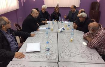 خلال أجتماع وفد من الفصائل الفلسطينية مع مسؤولة المنسق الخاص للعلاقات السياسية للاتحاد الأوروبي في لبنان