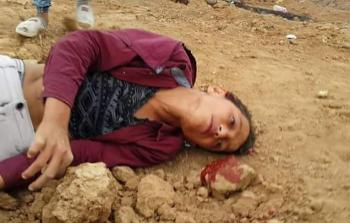 الطفل محمد إبراهيم أيوب الذي ارتقى برصاص الاحتلال شرقي جباليا يوم الجمعة