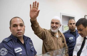 الشيخ رائد صلاح في محكمة الاحتلال