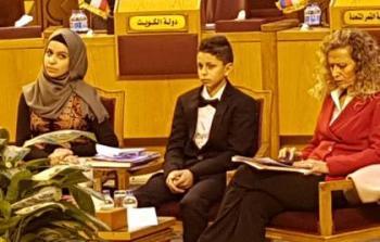 الطالبان الفلسطينيان في جامعة الدول العربية