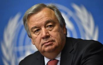 الأمين العام للأمم المتحدة أنطونيو غوتيريس