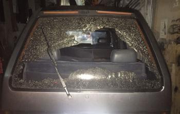 الأضرار نتيجة إلقاء القنبلة