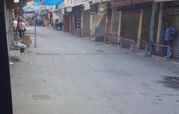الشارع الفوقاني بمخيم عين الحلوة