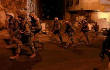 اعتقلت قوات الاحتلال 6 مواطنين من جنين- أرشيفية