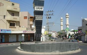 فلسطين المحتلة- صرح شهداء مذبحة كفر قاسم المحتلة