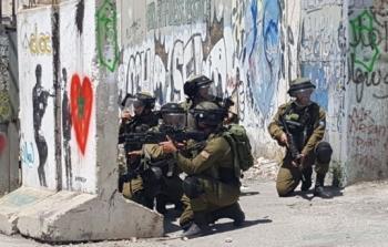 قوات الاحتلال تطلق الرصاص على المتظاهرين