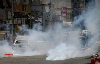 مواجهات عنيفة بين الشبان وقوات الاحتلال وأمن السلطة