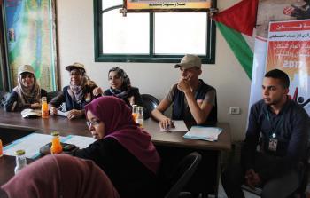 الفريق الوطني للتعداد يعقد ندوة في اللجنة الشعبية للاجئين بمخيّم جباليا