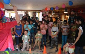 مؤسسة جفرا تُحيي عيد الفطر مع اللاجئين الفلسطينيين في أثينا