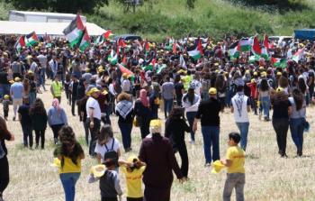 مسيرة العودة 22 إلى قرية خبيزة المهجرة - عرب 48