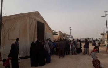 مخيم دير بلوط شمالي سوريا