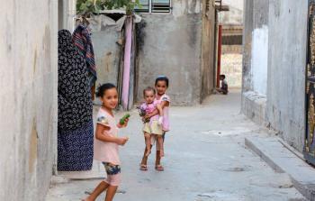 مخيم جباليا ، قطاع غزة. المصدر: أونروا