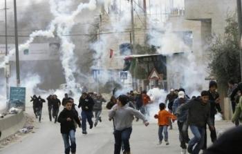 إصابات جراء اعتداء قوات الاحتلال على طلبة مدارس في مُخيّم الجلزون