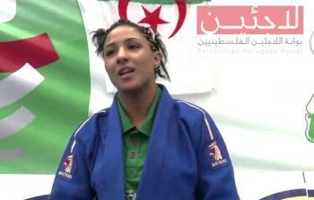 المصارعة الجزائريّة أمينة بلقاضي