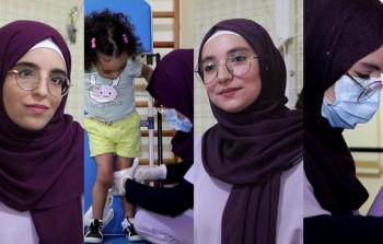 فايزة وسارة أسستا عيادة للعلاج الفيزيائي في مخيم عين الحلوة